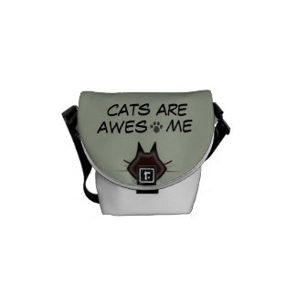 cats are awesome- bag