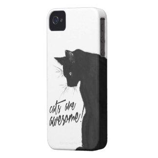 Cats are awesome iPhone 4/4s case
