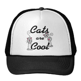 Cats Are Cool Tshirts and Gifts Trucker Hat