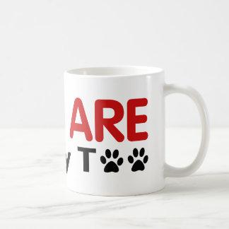 Cats Are Family Too Classic White Coffee Mug