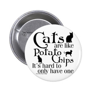Cats are like potato chips... pins