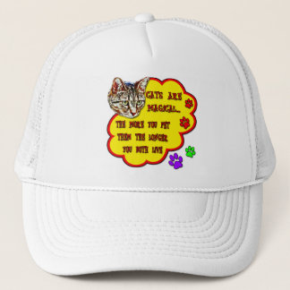 Cats Are Magical Trucker Hat