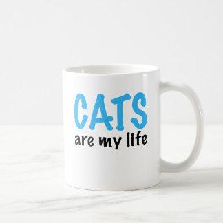 CATS are my life Coffee Mug