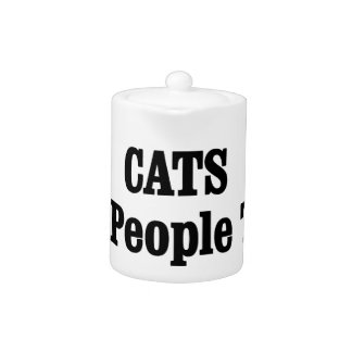 CATS Are People Too! Teapot