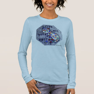 Cats Are Purrfect Long Sleeve T-Shirt