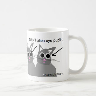 cats are scary mug