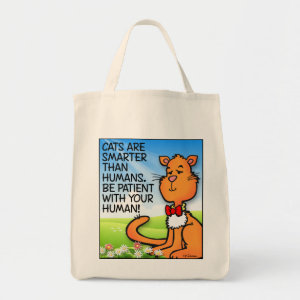 Cats Are Smarter Tote Bag