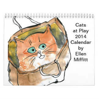 Cats at Play 2014 Calendar