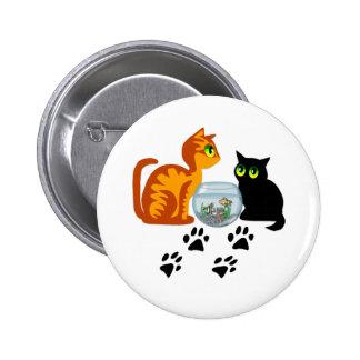 Cats At Play Pins