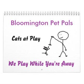 Cats at Play Calendar