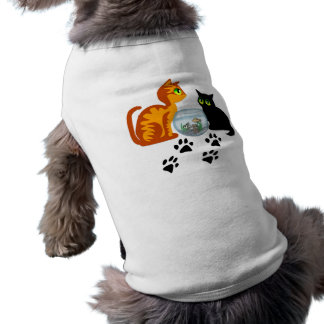 Cats At Play Doggie Tee