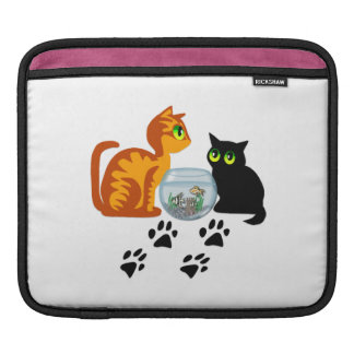 Cats At Play Sleeves For iPads