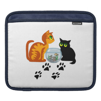 Cats At Play iPad Sleeve