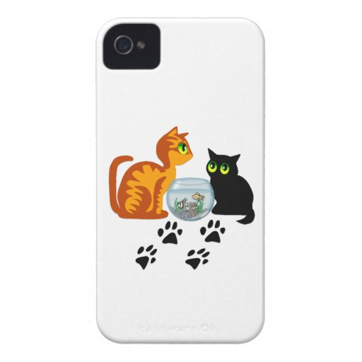 Cats At Play iPhone 4 Case