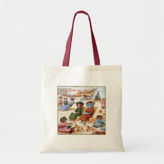 Cats at the Beach by Louis Wain Tote Bag