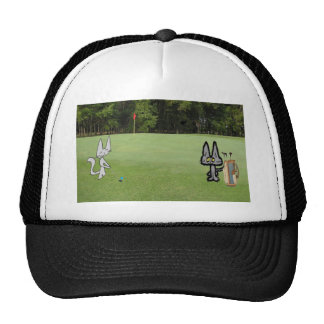 Cats At The Golf Course Hats