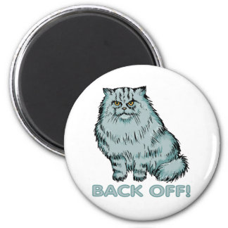 Cats: Back Off! Magnet
