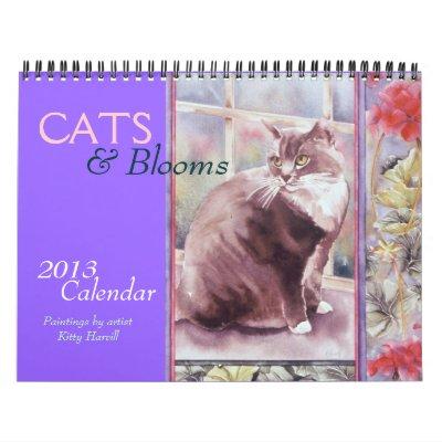 CATS & Blooms 2013 Calendar