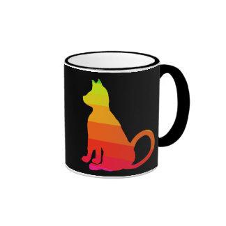 Cats Brights Rainbow Fun Cat CricketDiane Ringer Mug