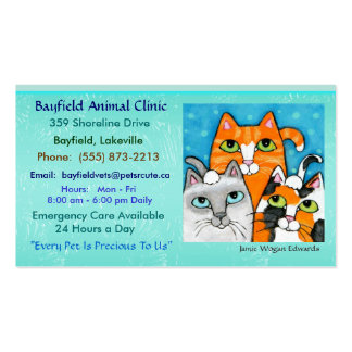 Cats Business Cards