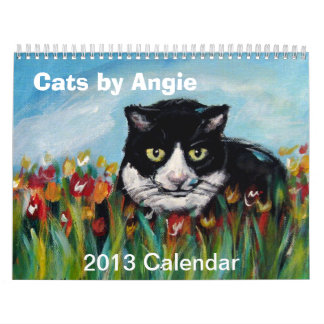 Cats by Angie 2013 Calendar
