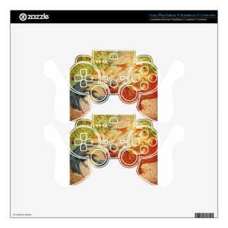 Cats by Franz Marc Decal For PS3 Controller