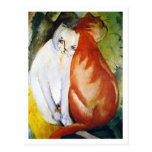 Cats by Franz Marc Post Cards