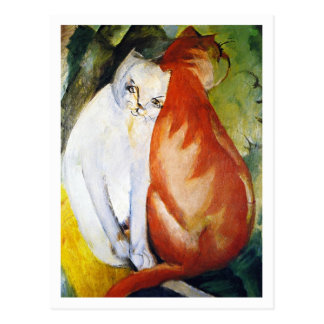 Cats by Franz Marc Postcard