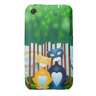 Cats iPhone 3 Covers