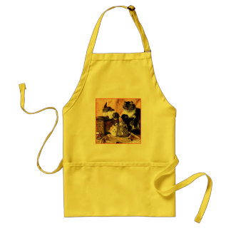 Cats - Cat Painting - by Ronner-Knip Aprons