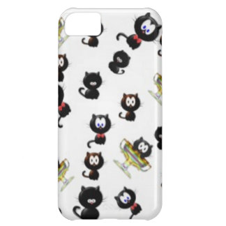 Cats Cats Cats Case For iPhone 5C