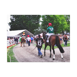 Cat's Claw wins the Waya Stakes Canvas Prints