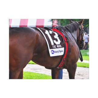 Cat's Claw wins the Waya Stakes Gallery Wrap Canvas