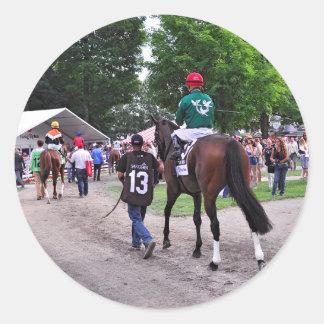 Cat's Claw wins the Waya Stakes Classic Round Sticker