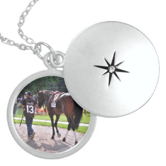 Cat's Claw wins the Waya Stakes Locket Necklace