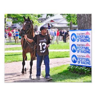 Cat's Claw wins the Waya Stakes Photo Print