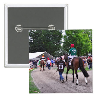 Cat's Claw wins the Waya Stakes Pinback Button
