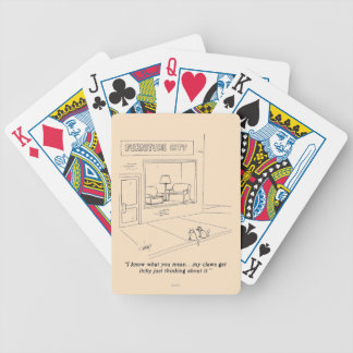 Cats Clawing Furniture Card Deck