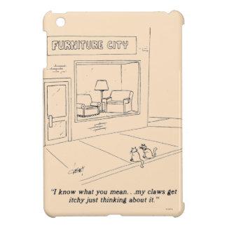 Cats Clawing Furniture iPad Mini Covers
