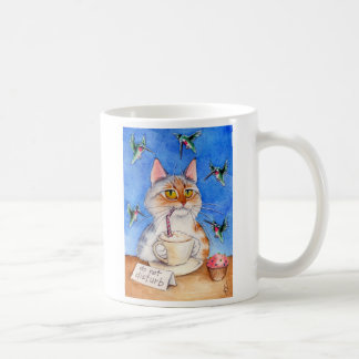 Cat's coffee break mug