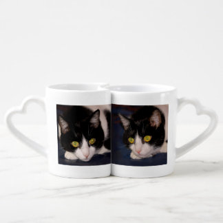 Cats Couples' Coffee Mug Set