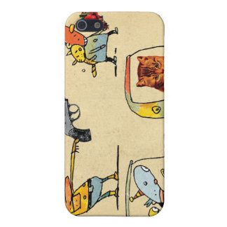 Cats, Cowboys, Clowns & Cars Covers For iPhone 5