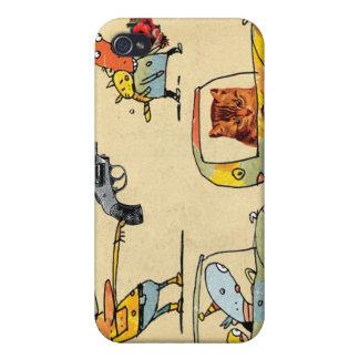 Cats, Cowboys, Clowns & Cars iPhone 4 Case