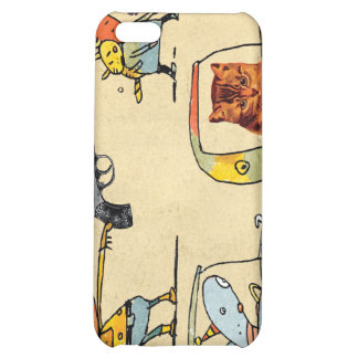 Cats, Cowboys, Clowns & Cars Cover For iPhone 5C