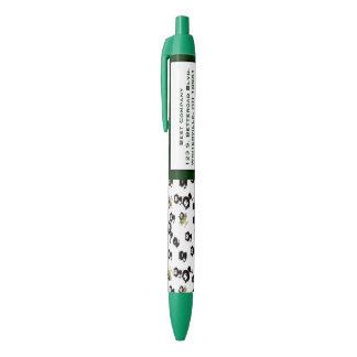 Cats customized black ink pen