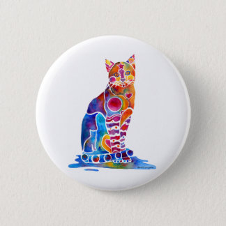CATS DANCING COLORS BUTTON