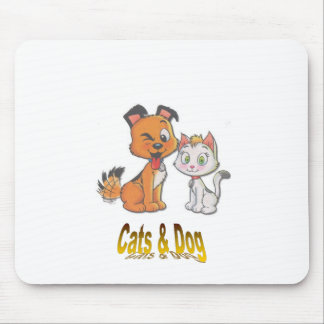 Cats&Dog Mouse Pad