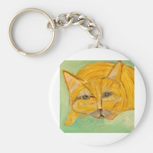 cats, dogs, cows by eric ginsburg key chain