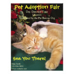 Cats & Dogs Rescue Event, Pet Animal Adoption Flyer Design