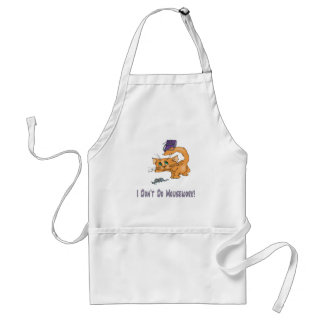 Cats: Don't Do Mousework! Adult Apron